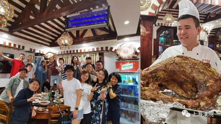 8月には日本と欧米の生徒さんで学生会を開催