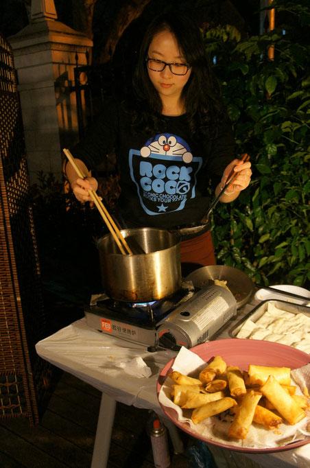 漢院文化体験-料理は全て先生達の手創り
