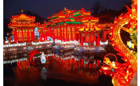 元宵灯会 yuan2xiao1deng1hui4