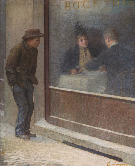 """Emilio Longoni, """"Riflessioni di un affamato"""" (1893)"""