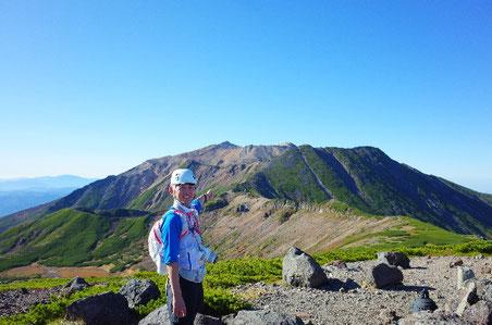 継子岳から御嶽山
