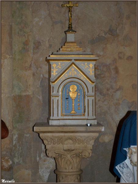 Coffre à hosties, église Saint Pierre de Mons à Belin-Beliet (Gironde)
