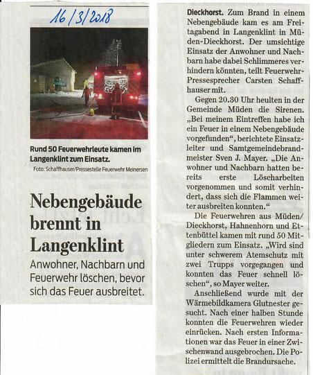 Quelle: Braunschweiger Zeitung 2018