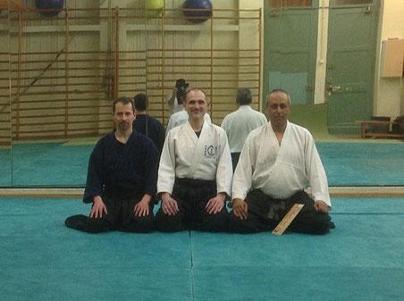Visite au Dojo Aikido à Igualada Barcelone 19.03.2015, un groupe très sympas et un accueil chaleureux. Merci au maître josé Antonio (Toni) et un grand remerciement à toute l'équipe http://www.kyoukaibudo.com/