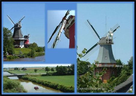 Vollkornmehl in großen Portionen - die Mühlen in Greetsiel