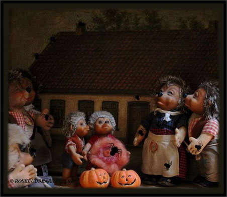 Trick or Treat - meine Mecki-Familie liebt Spinnen