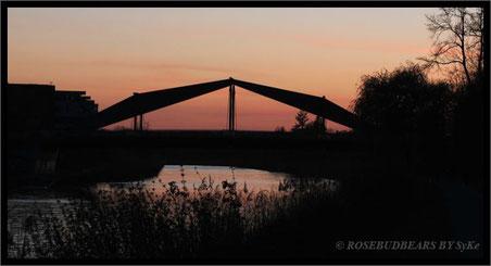 Abends wird es still - Spaziergang am Mittellandkanal