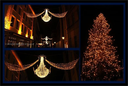 in Hannovers Altstadt - dort steht die große Weihnachtstanne