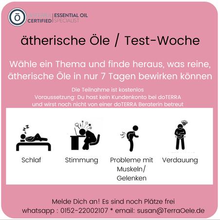 doterra oele testen, doterra Test Woche, doterra Studie, doterra experience, doTERRA Hamburg, doterra Dresden, doterra Berlin