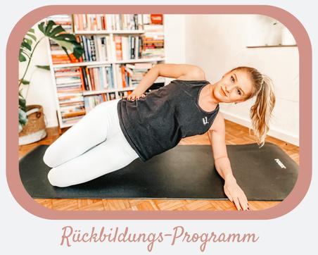 Rückbildungs-Programm (Onlinekurs)