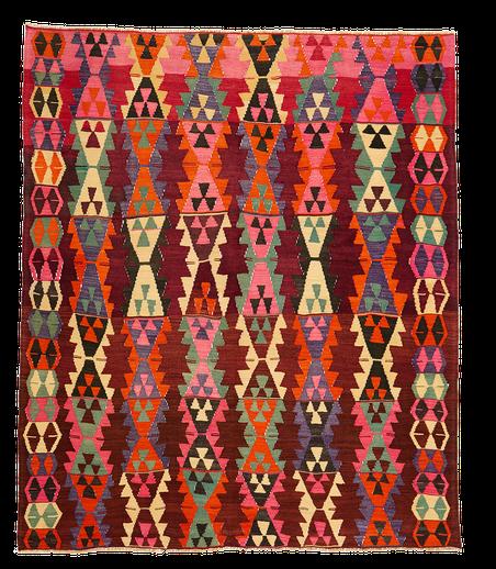 Teppich. Zürich. Vintage Ordu Kilim, wool. Handgewebter Teppich, Kelim. Laden, Zürich, kilim vintage ordu en Suisse