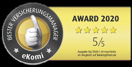 Auszeichnung, Rating Versicherungs-App