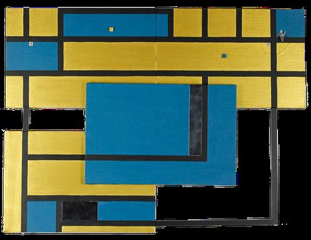 JINGU 11      820mm×610mm    P6*4    Wood, Alminium, Acrylic 2019