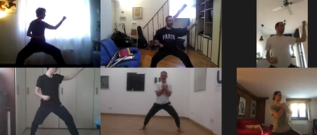 allenamento, kung fu, tai chi, personal training, online via zoom