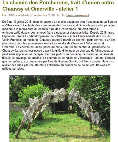 Blog de la bergerie de Villarceaux - Roman Gorski