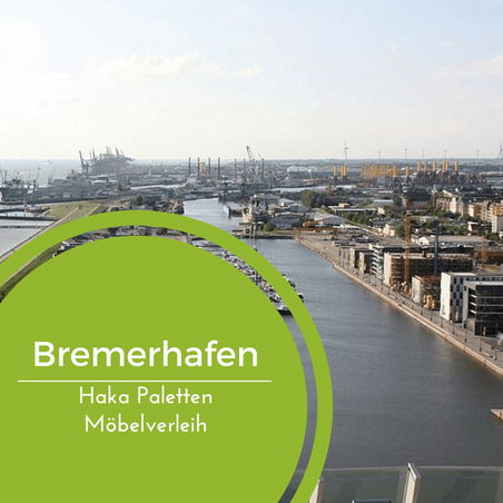 Eventmöbel mieten / Palettenmöbel Verleih & Vermietung in Bremerhaven und Umgebung