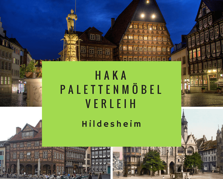 Eventmöbel mieten / Palettenmöbel Verleih & Vermietung in Hildesheim und Umgebung