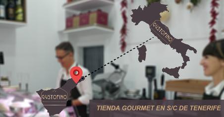 Tienda Gourmet italiana en Santa Cruz de Tenerife