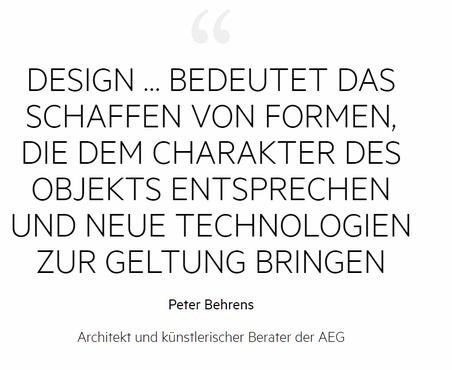 AEG kombiniert intelligente Technik mit ansprechendem Design und folgt dabei der Vision und Designphilosophie von AEG's Peter Behrens: Perfektion in Form und Funktion. Quelle: AEG.de