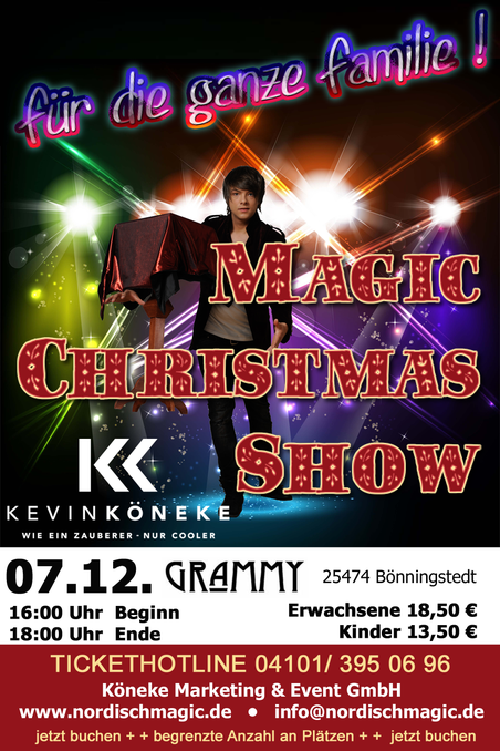 MAGIC CHRISTMAS SHOW