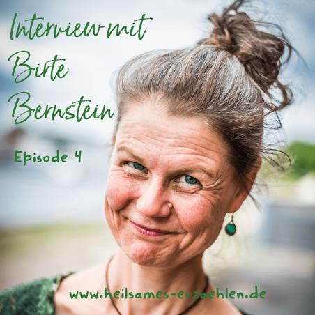 Märchenerzählerin Birte Bernstein aus Lübeck, Funkenflugerzählkunst