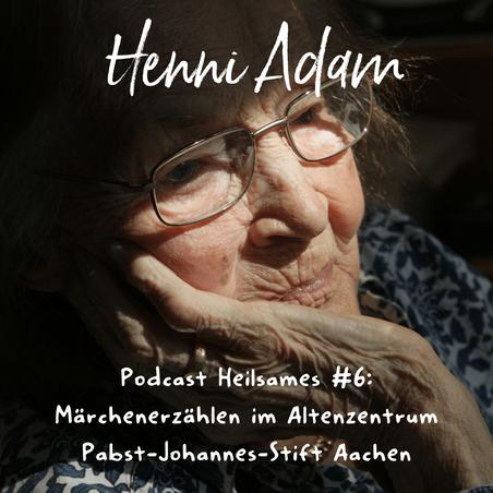 Märchenerzählerin Henni Adam aus Aachen, Erzählen für Menschen mit Demenz