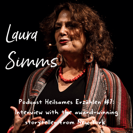 Storyteller Laura Simms from New York, USA