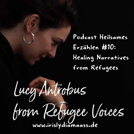 Flüchtlingsarbeit mit Geschichten -  Lucy Antrobus von Refugee Voices im Interview