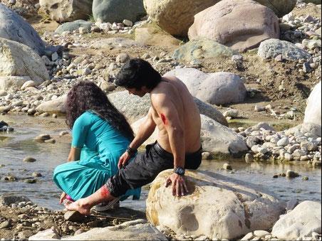 Saubere Flüsse durch Bollywood?