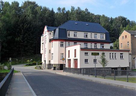 Das Brauereigebäude wurde 1931 errichtet