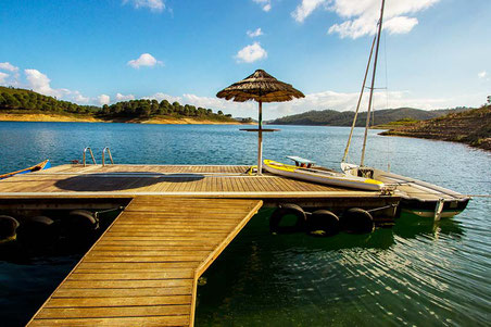 printmaking workshop holiday art course vacation portugal beautiful remote lakeside retreat lake