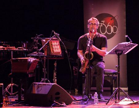 """Sylvain Rifflet, solo de rappel ; Sylvains Rifflet """"Troubadours"""" Quartet. Festival JAZZ360, samedi 5 juin 2021, Cénac. Photographie © Christian Coulais"""