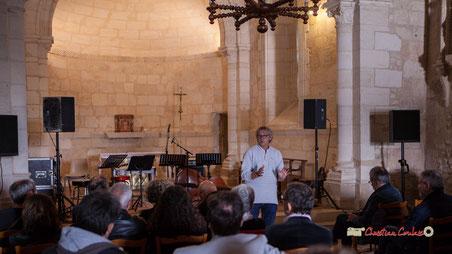 Festival JAZZ360 2019, Cénac. Richard Raducanu, Président de JAZZ360 présente François Poitou Quintet, une musique originale. 07/06/2019