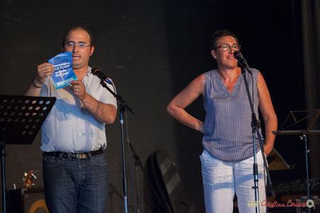 Christophe Miqueu et Nathalie Chollon-Dulong, candidats aux élections législatives 2017, 12ème circonscription de la Gironde