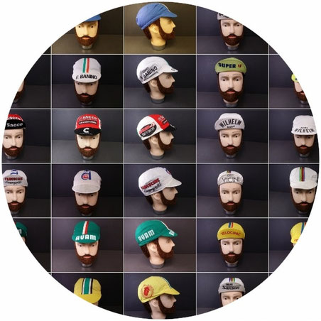 casques tour de france vintage
