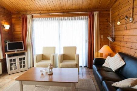 Te huur gezellige Finse bungalow voor 4 personen op een vakantiepark op Ameland met Wifi, honden toegestaan
