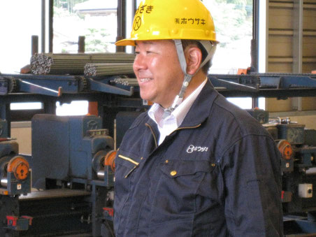 鉄筋工事のホウザキ 代表取締役 芳崎一郎