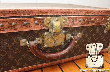 Restauration valise ancienne Louis Vuitton