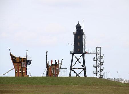 Bild: Leuchtturm Obereversand