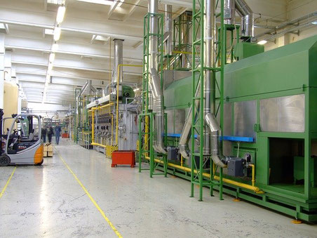 ISO 14001 production floor