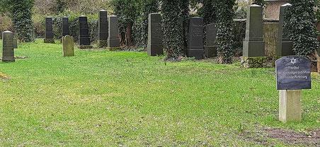 Jüdischer Friedhof. Foto: J. de Gruyter