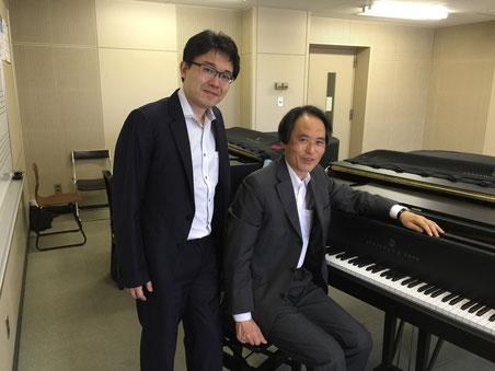 左:菅野雅紀先生、右:山田昌宏先生