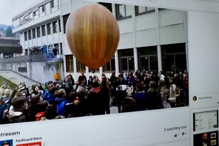 Live Übertragung des Starts auf der Interpädagogica 2016