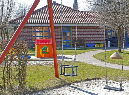 Kindergarten-Spielplatz