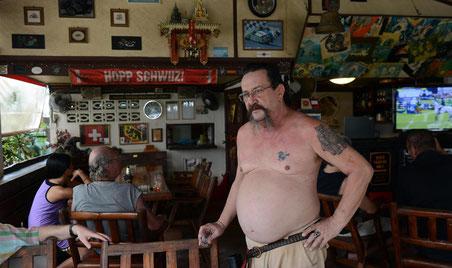 Der frühere Postbeamte Thomas Messerli aus Bern führt das Restaurant «Tommy» auf Ko Samui.