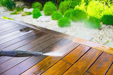 Reinigung Ihre aMboo Terrasse