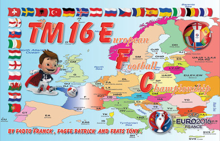 From 10 Juin to 11 July TM16EFC in CW-SSB-DIGI