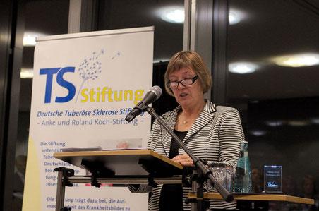 Begrüßung durch die Vorsitzende des Stiftungsvorstandes, Anke Koch. Foto: Galina Görl