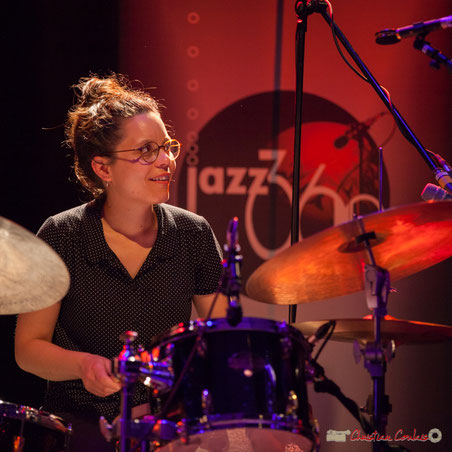 """Anne Paceo """"Circles"""", Festival JAZZ360, samedi 10 juin 2017, Salle culturelle de Cénac"""