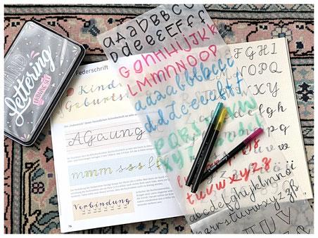 Handlettering, Schriftarten, Alphabete, Kunst, Design